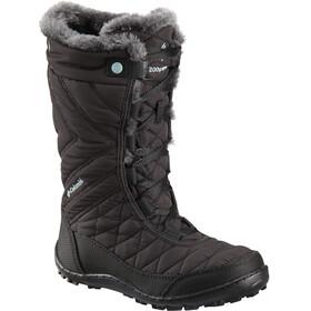 Columbia Minx Mid III WP Omni-Heat Boots Kinder black/iceberg